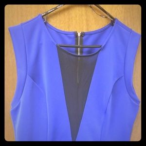 Women S Royal Blue Blouse Forever 21 On Poshmark
